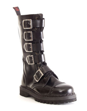 5-buckle boot, maat 40